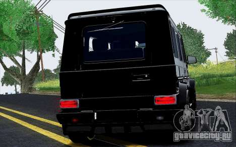 Mercedes Benz G65 Black Star Edition для GTA San Andreas вид сзади