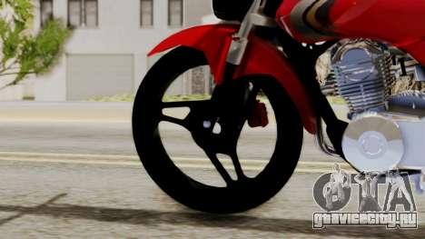 Yamaha YBR Imitacion для GTA San Andreas вид сзади слева