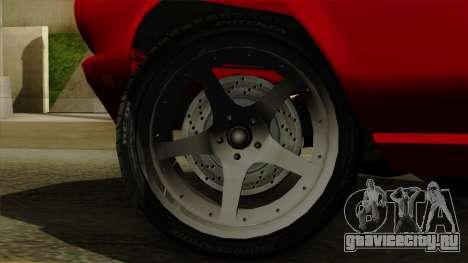 Ford Mustang Fastback для GTA San Andreas вид сзади слева
