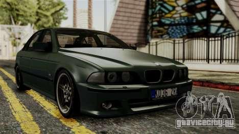 BMW 530D E39 1999 Mtech для GTA San Andreas