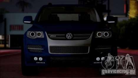 Volkswagen Touareg R50 2008 для GTA San Andreas вид изнутри