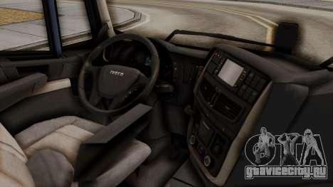 Iveco Truck from ETS 2 для GTA San Andreas вид справа