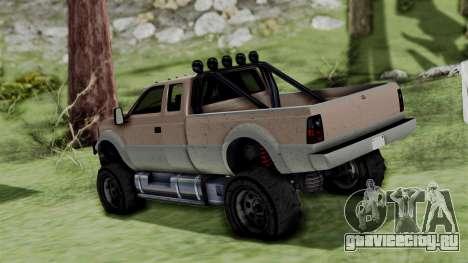 GTA 5 Vapid Sandking для GTA San Andreas вид слева