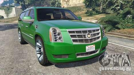 Cadillac Escalade ESV 2012 для GTA 5
