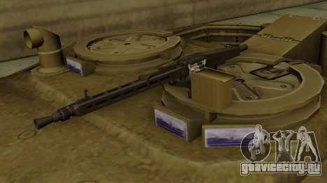 Leopard 1A5 для GTA San Andreas вид сзади