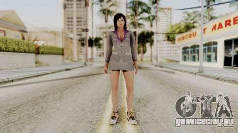 Kokoro Business Suit для GTA San Andreas второй скриншот