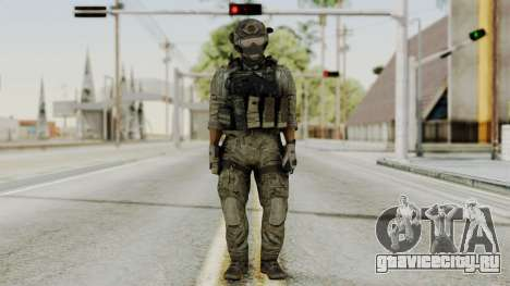 Derek Frost from CoD MW3 для GTA San Andreas второй скриншот