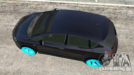 SEAT Leon II 2010 [Beta] для GTA 5 вид сзади