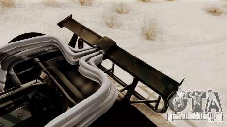 Camo Flip Car для GTA San Andreas вид справа