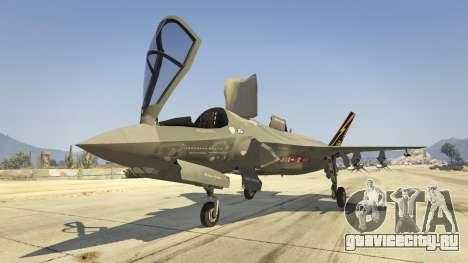 F-35B Lightning II (VTOL) для GTA 5 седьмой скриншот