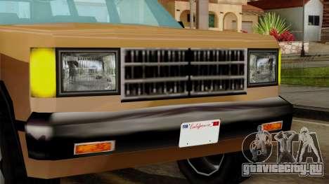 Landstalker from Vice City IVF для GTA San Andreas вид сзади
