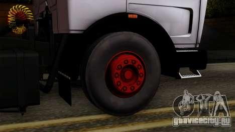 Mercedes-Benz NG 1632 для GTA San Andreas вид сзади слева