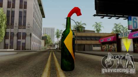 Brasileiro Molotov Cocktail v2 для GTA San Andreas второй скриншот