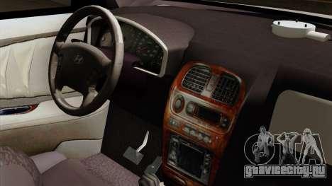 Hyundai Accent для GTA San Andreas вид справа