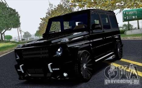 Mercedes Benz G65 Black Star Edition для GTA San Andreas