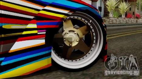 BMW M3 E36 79 для GTA San Andreas вид сзади слева