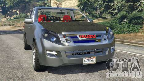 Isuzu D-Max для GTA 5