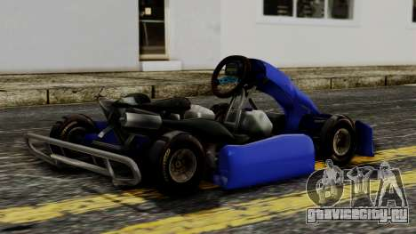 Crash Team Racing Kart для GTA San Andreas вид слева