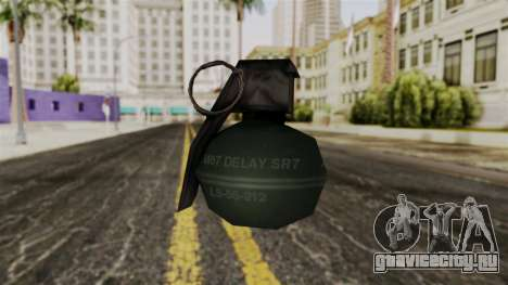 Frag Grenade from Delta Force для GTA San Andreas второй скриншот