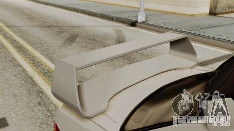 Subaru Impreza WRX STI HQ для GTA San Andreas вид сзади