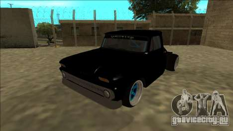 Chevrolet C10 Drift Monster Energy для GTA San Andreas