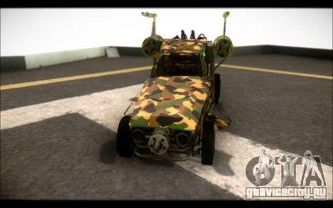 Camo Space Docker для GTA San Andreas вид справа