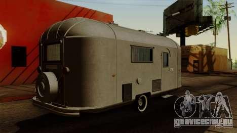Camper Trailer 1954 для GTA San Andreas вид слева