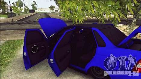 Ваз 2170 Vip Style для GTA San Andreas вид справа