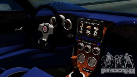 Saleen S7 для GTA San Andreas вид справа