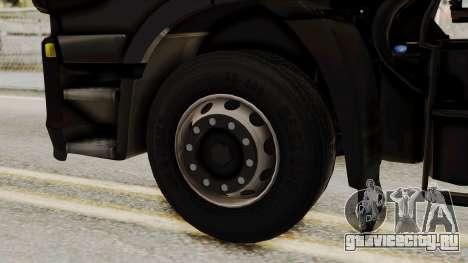 Iveco Truck from ETS 2 v2 для GTA San Andreas вид сзади слева