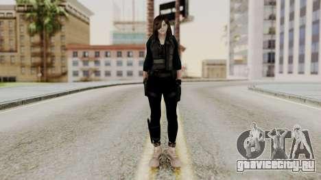 Christy Battle Suit 2 (Resident Evil) для GTA San Andreas второй скриншот