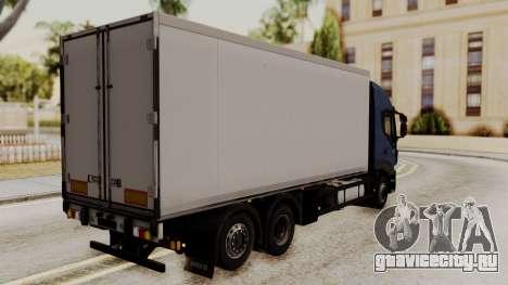 Iveco Truck from ETS 2 для GTA San Andreas вид слева