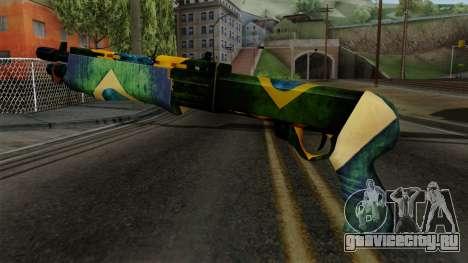 Brasileiro Combat Shotgun v2 для GTA San Andreas второй скриншот