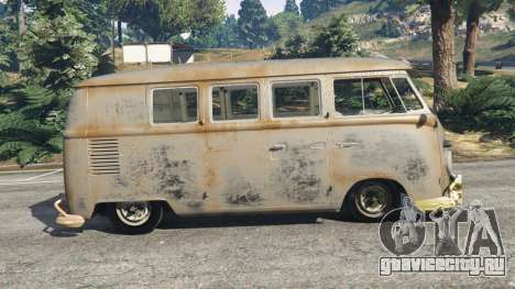 Volkswagen Transporter 1960 rusty [Beta] для GTA 5