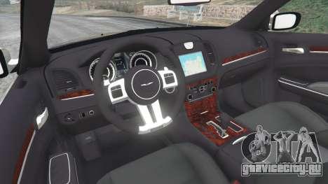 Chrysler 300C 2012 [Beta] для GTA 5 вид сзади справа