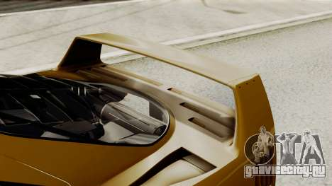 Ferrari F40 1987 HQLM для GTA San Andreas вид изнутри