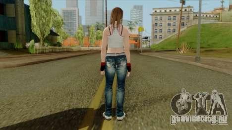 Dead Or Alive 5 Hitomi 1st Cos для GTA San Andreas третий скриншот