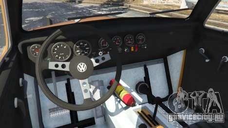 Volkswagen Beetle Baja Bug [Beta] для GTA 5 вид сзади справа