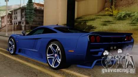 Saleen S7 для GTA San Andreas вид слева
