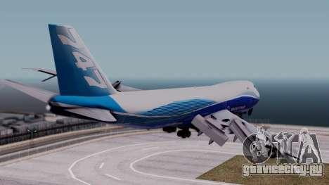 Boeing 747-400 Dreamliner Livery для GTA San Andreas вид слева