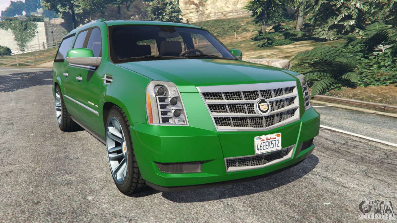 cadillac escalade esv 2012 gta 5. Black Bedroom Furniture Sets. Home Design Ideas