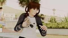 DOA 5 LeiFang Panda T-shirt для GTA San Andreas