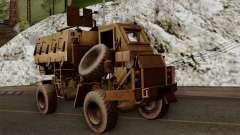 MRAP Buffel from CoD Black Ops 2 для GTA San Andreas