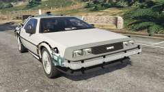 DeLorean DMC-12 Back To The Future v0.3 для GTA 5
