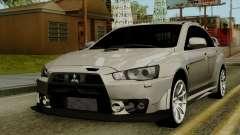 Mitsubishi Lancer Evolution X FQ400 Pro для GTA San Andreas