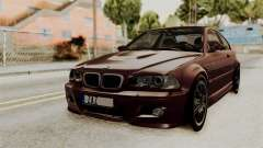 BMW M3 E46 2005 Stock для GTA San Andreas