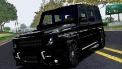 Mercedes Benz G65 Black Star Edition для GTA San Andreas