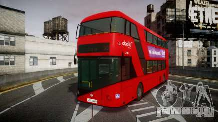 Wrightbus New Routemaster Abellio London для GTA 4