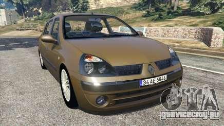 Renault Symbol 1.4L для GTA 5