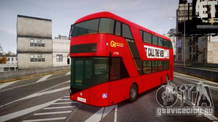 Wrightbus New Routemaster Go Ahead London для GTA 4